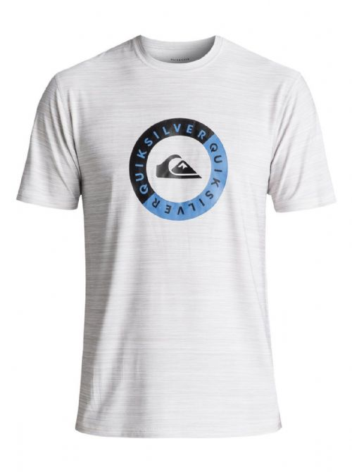 QUIKSILVER MENS RASH T SHIRT.NEW SCRYPTO UPF50+ WHITE WET/DRY TOP VEST 8S 86 WBB
